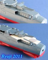 space battleship Yamato wip06 by celsoryuji