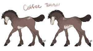 Coffee One and Two by TintedGreen