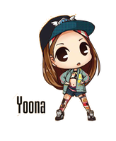 SNSD Yoona I Got A Boy Chibi ~PNG~ by JaslynKpopPngs