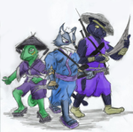 StarFox Ancestors: 2 Foreigners And An Outcast by Geo-Dragon