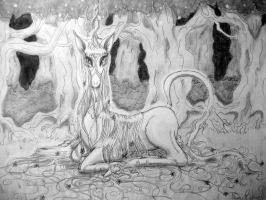Forest Unicorn by noelle23