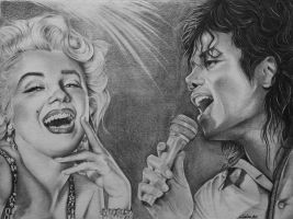... Marilyn e Michael ... by CristinaC75