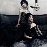 Victorian Maidens by zemotion
