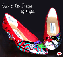 TNBC Shoes by Chylde