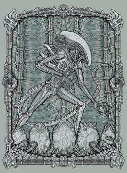 ALIEN Poster by jonito