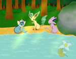 Candescent Tranquility by AmyKittenFox