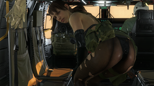 Quiet teasing - MGS5 PP by PlanK-69