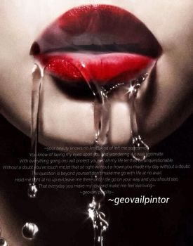Your beauty poem by geovailpintor