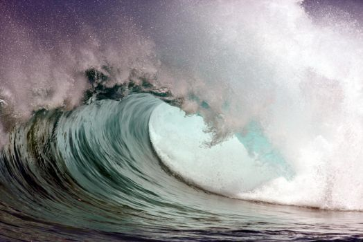 Just Another Wave by manaphoto