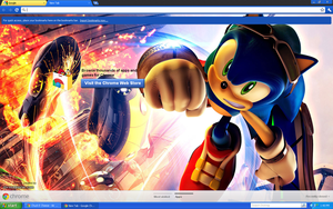 OMG SONIC GOOGLE CHROME THEME by BlueSliver-Star
