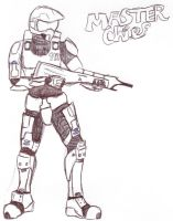 Master Chief Halo by SoulEaterGurl