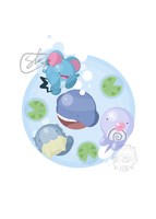 Silly Soaking Circlemon by SteveKdA