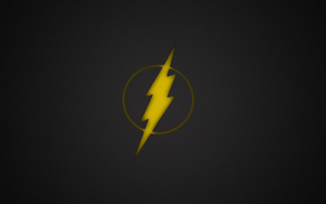 Minimalist Flash Wallpaper - Colour by younggeorge