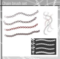 Chain brush set by Namwhan-K