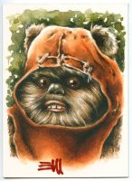 Wicket Sketch Card by Erik-Maell