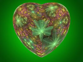 St. Patricks heart 2 by Theophobus