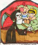 Grim Adventures of Billy and Mandy. Art trade by OpticBlast00