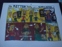 The Rotten Family #8: July 2011 by BARproductions