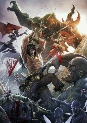 Conan the Conqueror by AdmiraWijaya