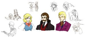 Doctor Lautrec and the Doodles... of Doom by Bubbli-chan