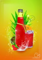 Tropical Fizz by robinweatherall