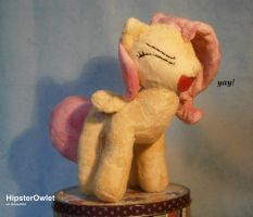 Fanmade Fluttershy Plushie - Yay! by HipsterOwlet