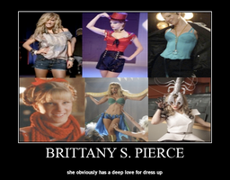 Brittany S. Pierce Poster by HelenaGrace44