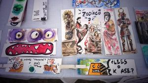 Hungry bookmarks by UNDISCOVER-art