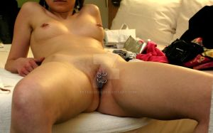 Nipples, hch and outer labia 2.5mm by peter33333