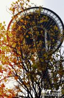 Autumn Spaceneedle by RoadKillConcepts