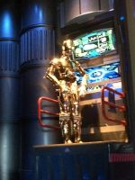 C-3PO is working in Star Tours photo 3 by Magic-Kristina-KW