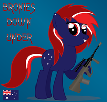 Bronies Down Under Icon featuring Sheila by romansiii