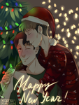 SnK |JeanMarco | Happy New Year by KsiezniczkaOlya