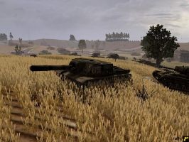 BeastKiller  1st Tank Army, 5th Guards Army- kursk by rainamechan