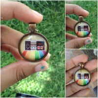 Retro vintage nintendo controller pendant necklace by Saloscraftshop