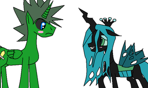 Awesome and Chrysalis 2 by Dell-AD-productions