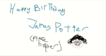 HAPPY BIRTHDAY JAMES POTTER by Mairelyn