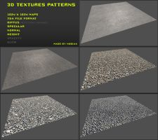 Free 3D textures pack 09 by Nobiax