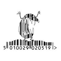barcode art evil mole by frost-rot