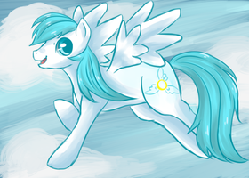.::Request::. Soaring Sky by ChocolatDisco