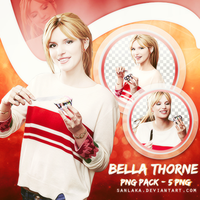 PNG Pack 29 - Bella Thorne by Sanlaka