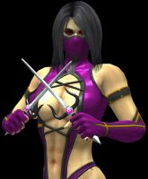 MK 2011 Mileena MKII Pose Primary Outfit by artemismoonguardian