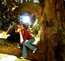 sitting in a tree by kayx3