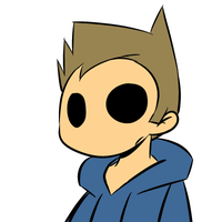 Tom's blinking animation(gif) by Asagi-Samejima