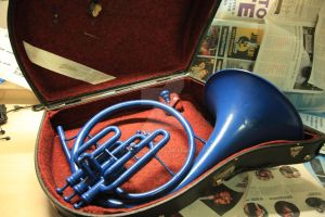 The Blue French Horn HIMYM Prop 3 Case by Minato-117