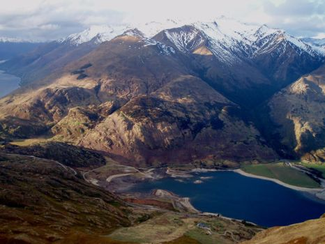Lake Hawea by Caethilia-Mordon
