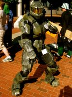 Otakon 08 Master Chief by Leonheart29