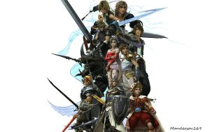 Dissidia Heroes by Manderson169