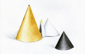 DRAWING - cone by Kageyoshi07