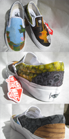 Minecraft Shoes by peahat